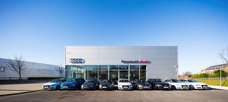Audi Plymouth approved car repair centre Plymouth