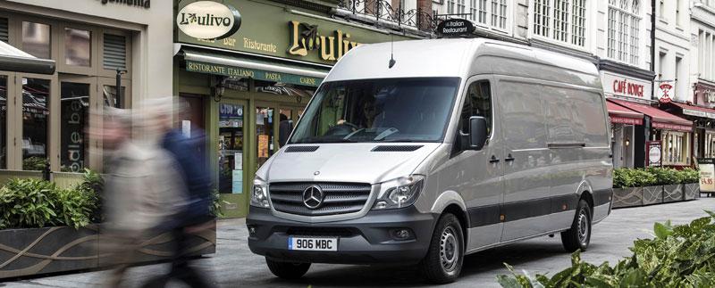 MercedesBenz Vans - Mercedes benz body repair centre