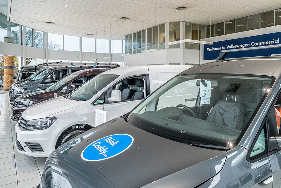Volkswagen Van Centre, Dorchester and Westbury approved accident repairer
