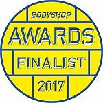 Bodyshop Magazine Awards Finalist 2017