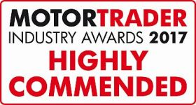 MotorTrader Awards 2107 MG Cannon Highly Commended