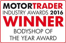 Winner Bodyshop of the Year 2016